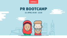 Vi arrangerer PR Bootcamp 10. april!