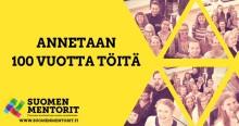 Etera on mukana Suomen Mentorien Annetaan 100 vuotta töitä -ohjelmassa