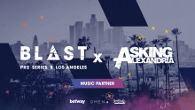 New Music Partner: BLAST Pro Series Los Angeles goes Rock n Roll!