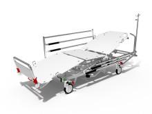 Mångsidig, lätt och stark - patientvagn Proton S10 från Proton Caretec