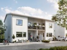 Nytt radhusområde i Rosengård med social hållbarhet som grund