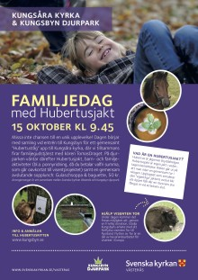Familjedag med Hubertusjakt 15 Oktober