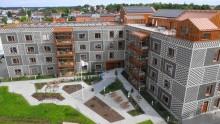 Solpark i Kalmar levererar solel till äldreboende i Växjö - Skanskas grönaste byggprojekt