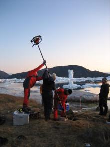 Forskere kortlægger klimatruslen mod Grønlands kolde Pompeji