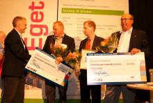 """Strömstad och Åre emottog pris för """"Årets Nyföretagarkommun"""" vid Eget Företag 2009"""