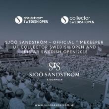 Sjöö Sandström - Official Timekeeper för Collector Swedish Open och SkiStar Swedish Open i Båstad 2015.