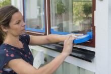 Så här målar du fönster