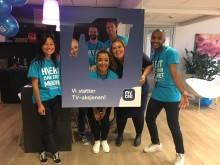 Telia Norges ansatte engasjerte seg for TV-aksjonen