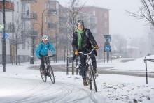 Sollentunas cyklister är nöjdast i länet