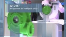 Höjdpunkterna från ebm-papst monter på ISH 2017