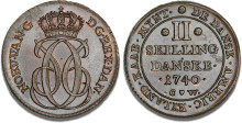 Enestående samling af Dansk Vestindiske mønter