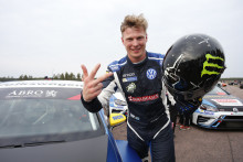 Johan Kristoffersson krossade motståndet i STCC-kvalet