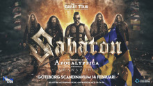 Sabaton spelar i Scandinavium 2020