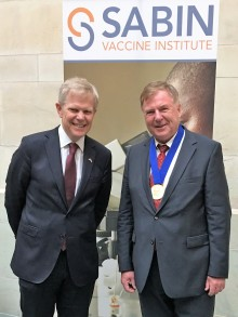 Our collaboration partner, Jan Holmgren, is awarded the world's greatest vaccine prize