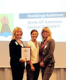 Huddinge regionens bästa UF-kommun