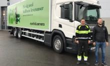 Martin & Servera investerar i hållbar fordonsflotta