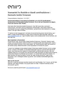 Voxeværket fra Roskilde er blandt semifinalisterne i Danmarks bedste firmanavn
