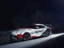 Racingkoncept av Toyota GR Supra visas i Genève