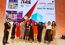 Local Hero PR Agency of the Year - Two years in a row!