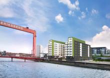 Nu startar uthyrningen av lägenheterna i Göteborgs hittills största rökfria projekt