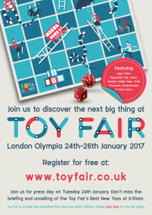 Toy Fair Media Invite