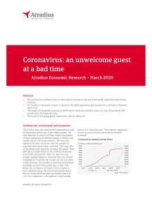 Economic Research Coronavirus, mars 2020