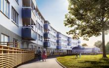 Willhem skapar nya hyreslägenheter vid  Väderlekstorget i Biskopsgården