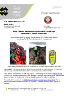 Hiker Calls for Safety Warnings Near Crib Goch Ridge after Woman Suffers Serious Fall