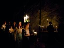Luciakonsert i Sala Silvergruva