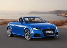 Nya Audi TT Roadster och TTS Roadster - sportbilskänsla med öppet tak