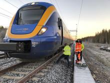 Äventyr i norr – X62-tåget testas i Norrlands tuffa klimat
