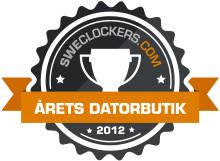 SweClockers.com:s omröstning 2012: Inet vinner entusiasternas hjärtan för femte året i rad