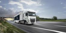 En lastbil kommer fylld med framtidens hydraulik
