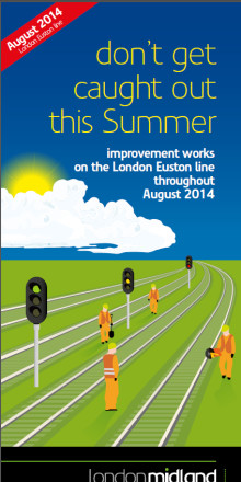 Countdown to Euston line closures this August
