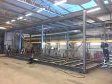 Uppdatering WoodRoll i Höganäs - det första industriella WoodRoll projektet