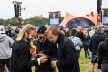 3's kunder satte datarekord på Roskilde Festival onsdag