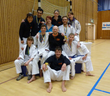 Många medaljer till IKSU på Ju-jutsu SM och Open SKIFT Ju-jutsu Fighting League i Sollentuna