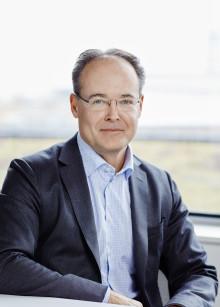 Första arbetsdagen för Swedavias nya VD