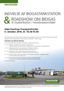 Program for indvielse af ny biogastankstation i Høje-Taastrup Transportcenter
