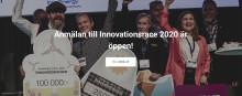 Anmälan till entreprenörstävlingen Innovationsracet är öppen!
