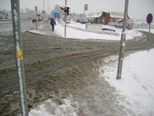 Sex av tio har halkat och slagit sig på isiga gator