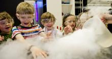 Experimentverkstad för barn under Sommarlund