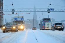 13. marts - trafikkaos - ja, der er stadig behov for vinterdæk!