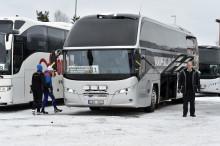 Preem ordnar hållbar busstransfer för Vasaloppet