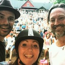 Första utomhuskonserten på Krapperup Slott Borggård när Hovturnén klapprar in i morgon
