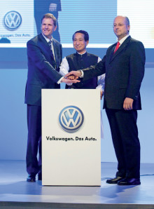 Volkswagen öppnar ny fabrik i Indien