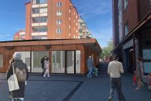 Nya kontor och mötesplatser på Wientertorget på Planteringen i Helsingborg. Det blir ett riktigt lyft för området
