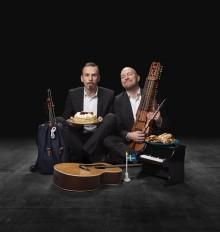 """Göteborgspremiär för """"Din j-vla fegis"""" med Björn A Ling och Johan Östling på Kajskjul 8."""