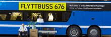 Ta flyttlasset till Norrtälje på buss 676