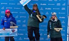 Speedskiåkaren Britta Backlund säkrar vinsten i den totala världscupen 2018/2019